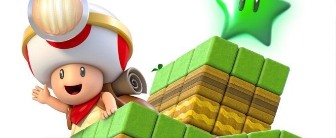La aventura comienza Captain Toad: Treasure Tracker