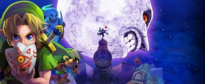 La hora ha llegado The Legend of Zelda Majora's Mask 3D