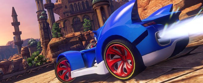 El erizo por tierra, mar y aire. Sonic & All Stars Racing Transformed