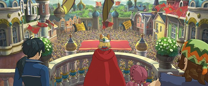 Tráiler presentación Kingdom Building Fly-through Ni No Kuni 2: El Renacer de un Reino