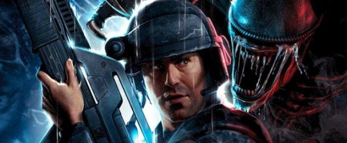Trailer concept art Aliens Colonial Marines