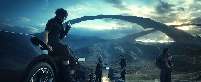 Invocación Exclusiva Final Fantasy XV