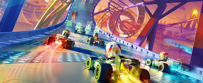 Gameplay trailer F1 Race Stars