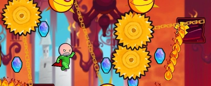 Gameplay tráiler Cloudberry Kingdom