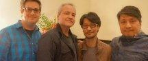Hideo Kojima hace una visita a Respawn Entertainment
