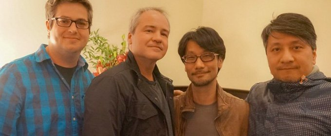 Hideo Kojima hace una visita a Respawn Entertainment