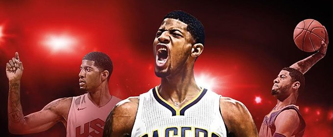Paul George será la portada de NBA 2K17