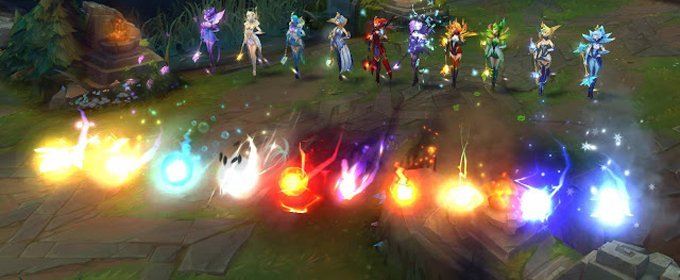 Lux Elementalista es la mejor skin de League of Legends