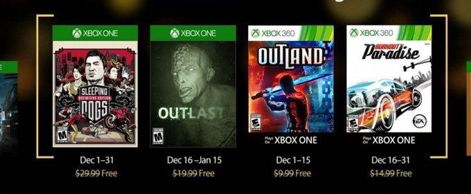 Juegos Gratis De Xbox Live Gold De Diciembre Desvelados
