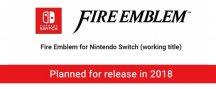 Nintendo anuncia un Fire Emblem original para Switch