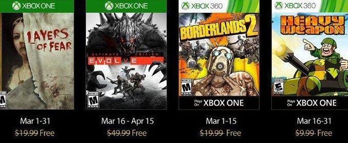Juegos Gratis De Xbox Live Gold De Marzo 2017