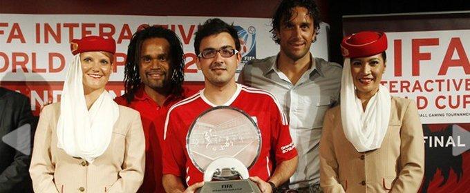 Ramos es el campeón FIFA Interactive World Cup 2012