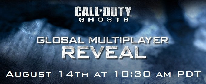El multijugador de Call of Duty: Ghosts tendrá su propio evento el 14 de agosto