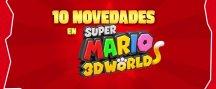 10 novedades de Super Mario 3D World, en vídeo