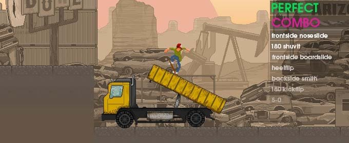 OlliOlli. Endless Runner de saltos perfectos