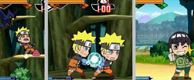 Naruto SD: Powerful Shippuden anunciado para 3DS