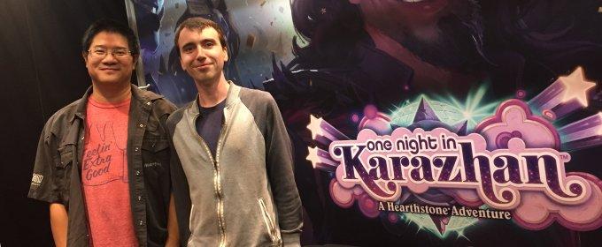 Gamescom 2016 - Entrevista Hearthstone