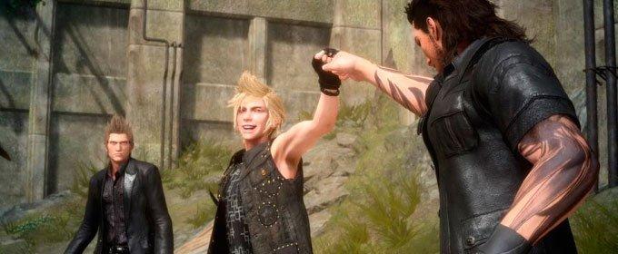 ¿Por qué enamoran los protagonistas de Final Fantasy XV?